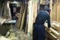 息子がお世話になっている方からの依頼で障子を造っています。 信州 下條村 丸正木工所